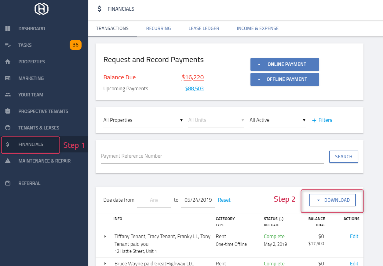 How can I import my transactions to Quickbooks? – Hemlane